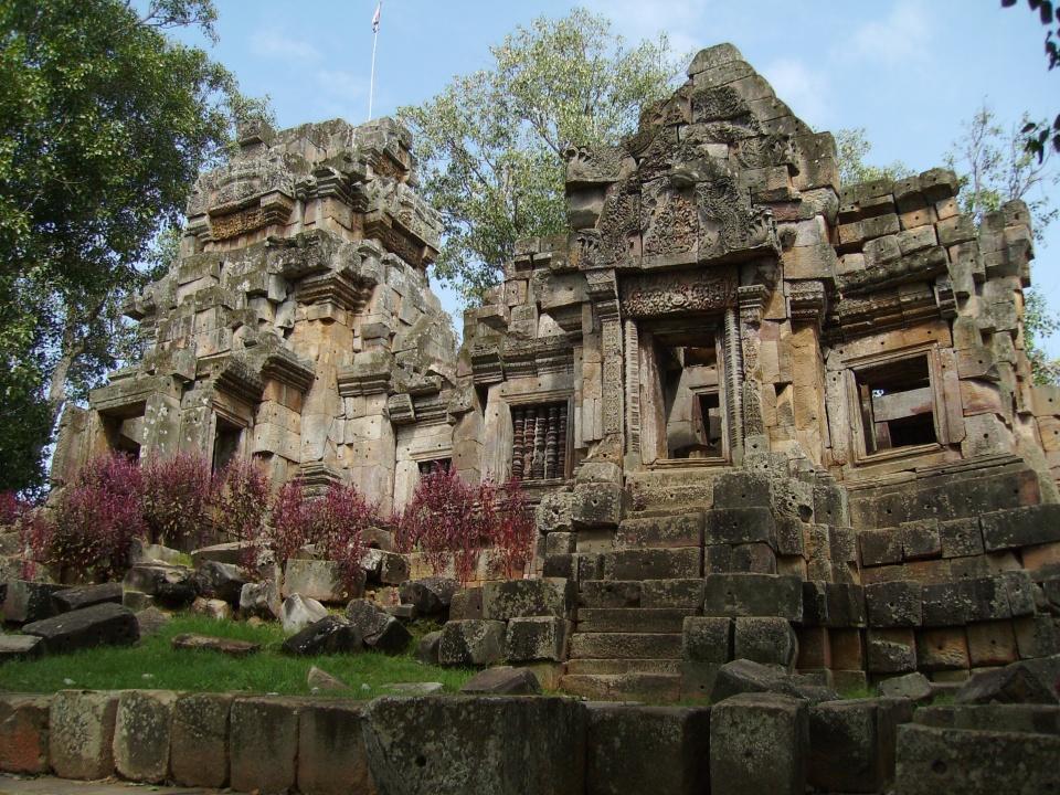 Temple near Battambang