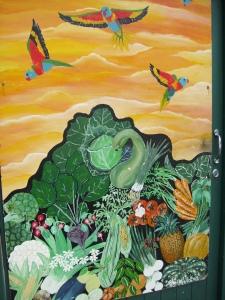 greengrocer mural