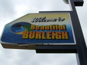 Burleigh sign