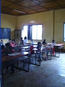 School in Chicken village