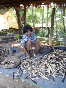 sticky rice vendor