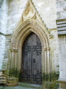 beautiful church doorway