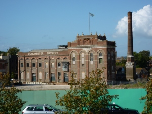 The old brewery - development happening here