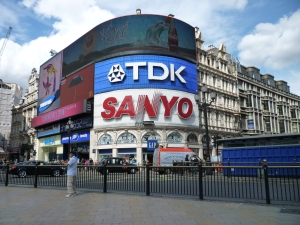 famous billboards at Piccadilly Circus