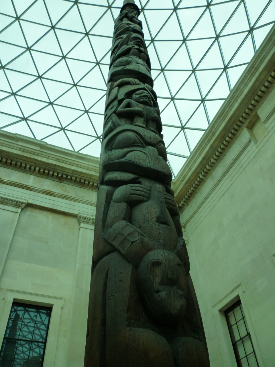 Totem pole in Great Court