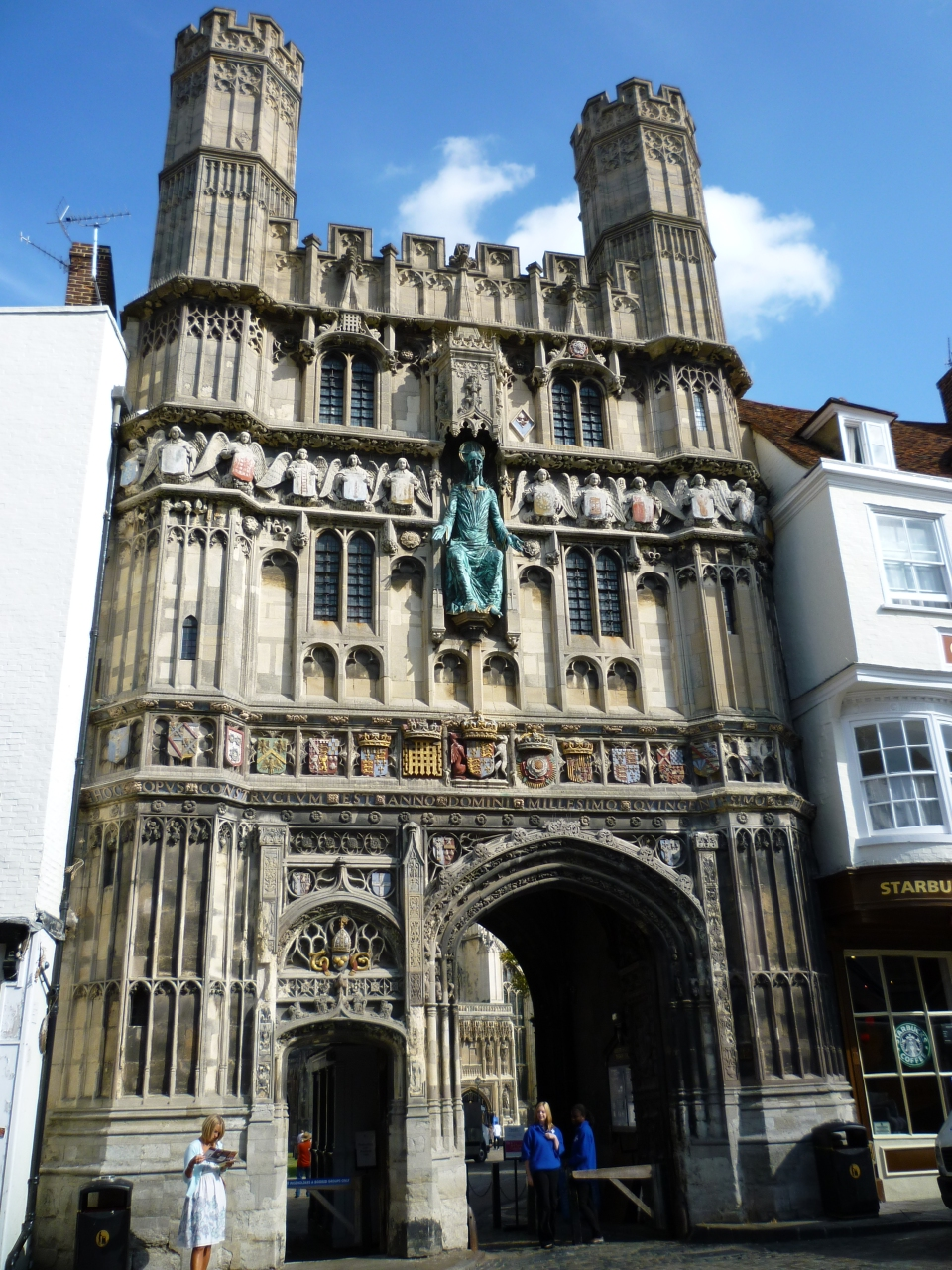 Main gate of Canterbury Cathedral