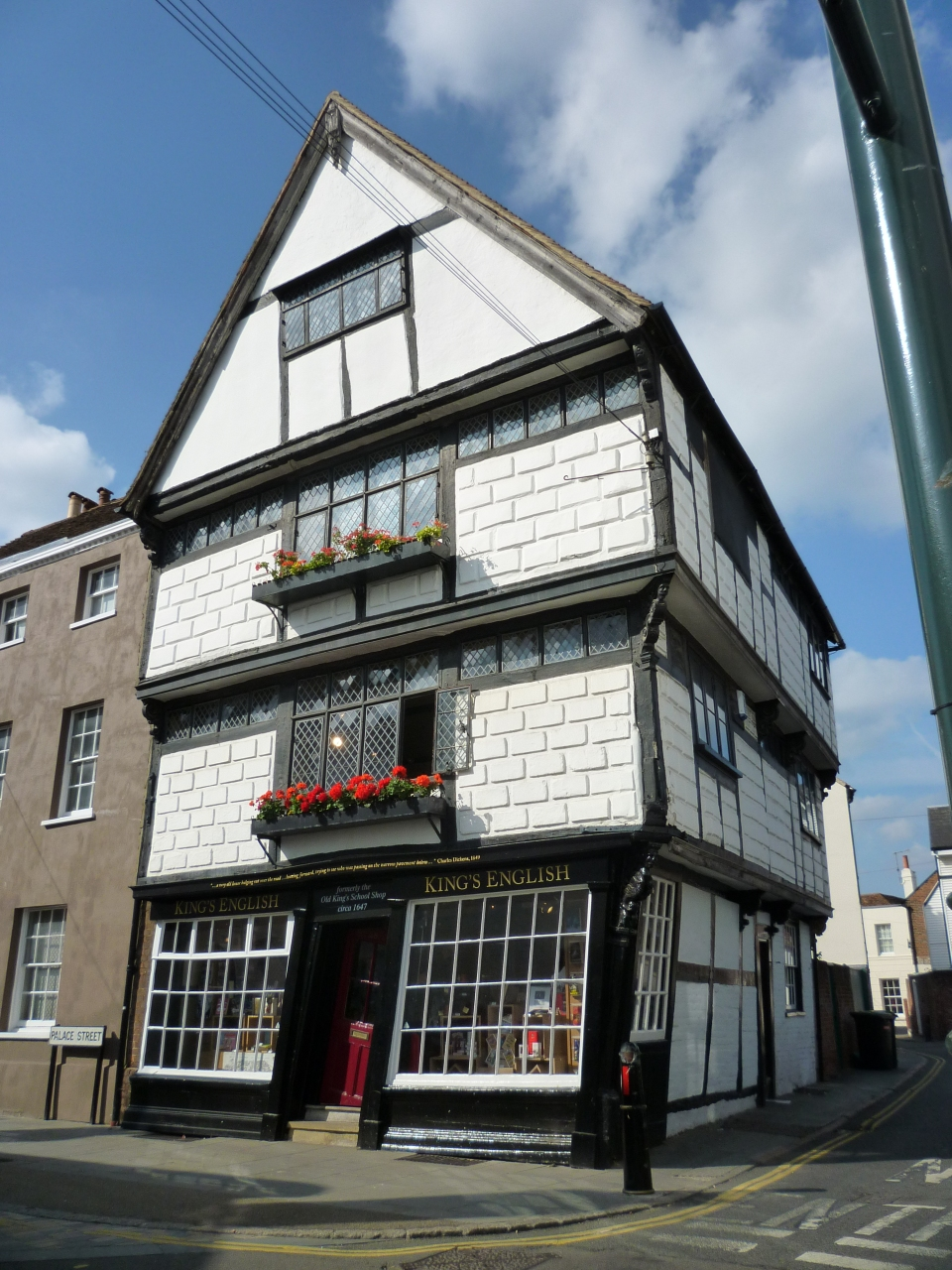 There was a crooked house...