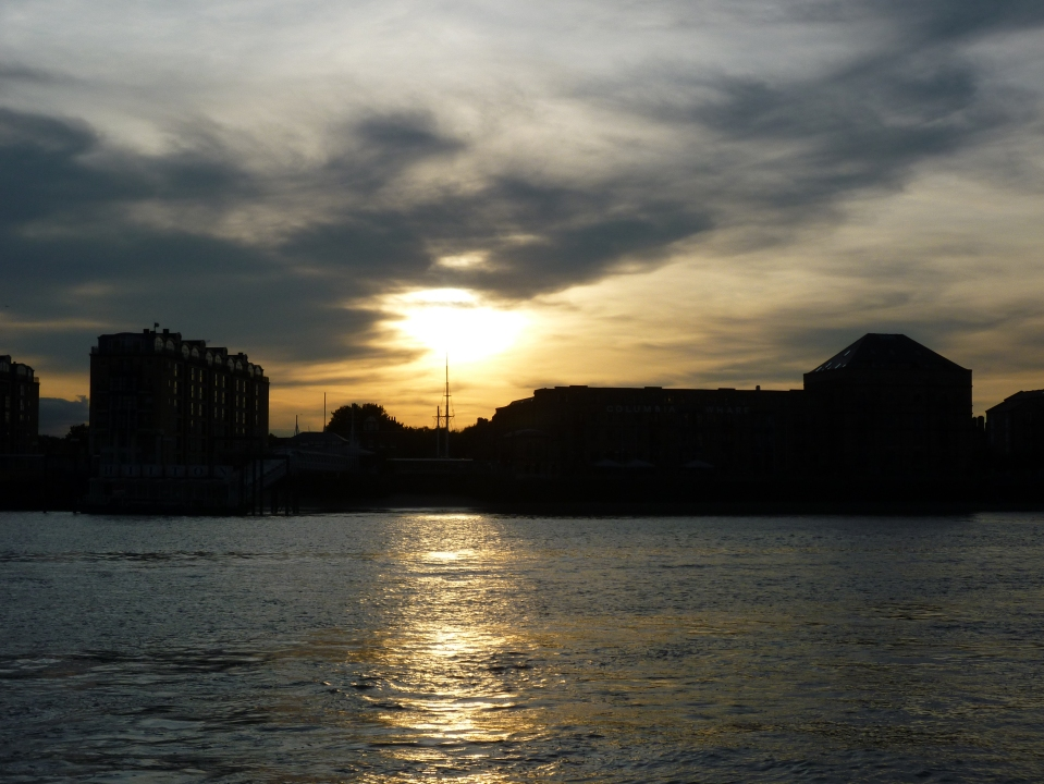 Columbia Wharf/Hilton sunset