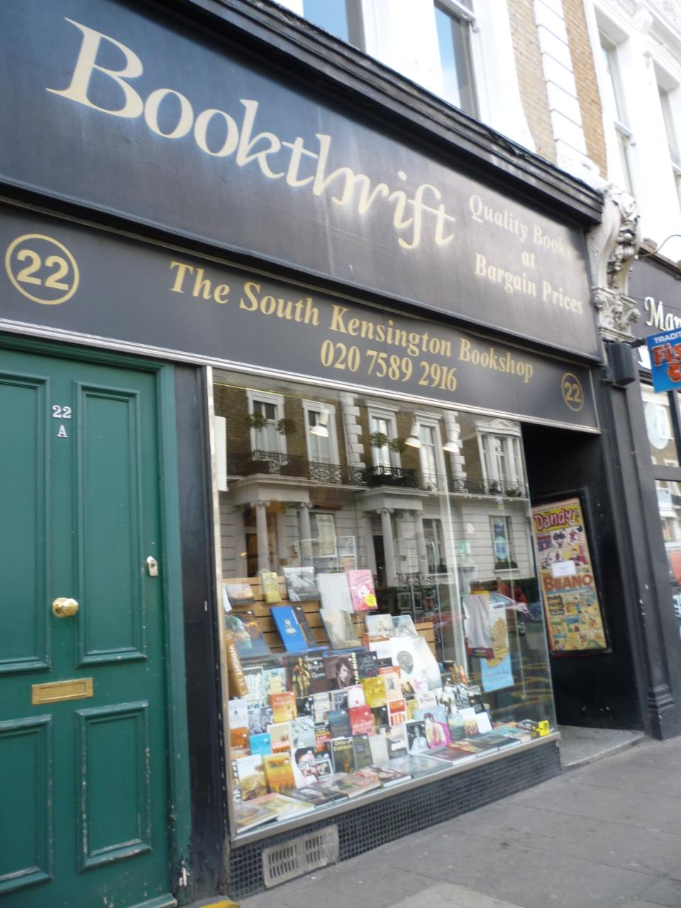 Bookthrift South Ken